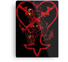 Kingdom Hearts v2 Metal Print