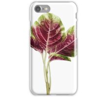 En Choy - Red Spinach iPhone Case/Skin