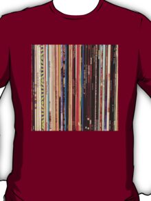 Vinyl Records Indie Rock  T-Shirt