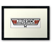 Maverick callsign Framed Print