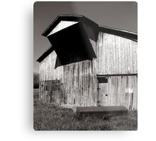 Barn with casket Metal Print