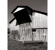 Barn with casket Photographic Print