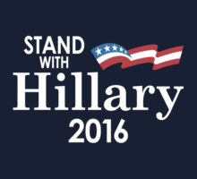 Stand With Hillary Kids Clothes