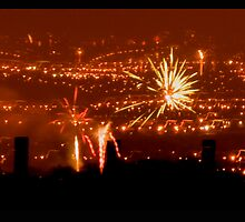 New Year Fireworks by LadySnapper