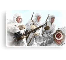 Soviet Snipers (WW II) Canvas Print
