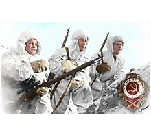Soviet Snipers (WW II) Photographic Print