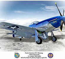 "North American P-51 ""Sweet Lovely"" by A. Hermann"