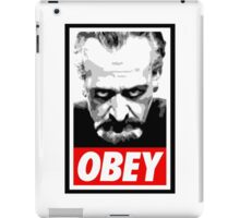 Obey Your Master! iPad Case/Skin
