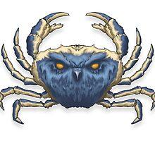 Owl Crab by Lloyd Harvey