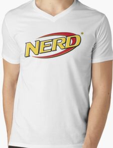 NERD Mens V-Neck T-Shirt