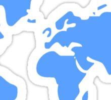 Antarctica The Forgotten Continent Sticker