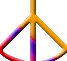 Give Peace a Chance 2 Sticker