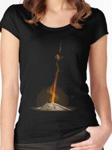 Bonfire  Women's Fitted Scoop T-Shirt