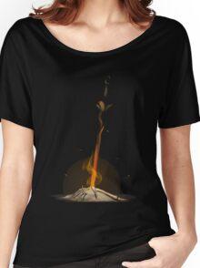 Bonfire  Women's Relaxed Fit T-Shirt