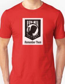 Remember Them POW MIA 2 T-Shirt