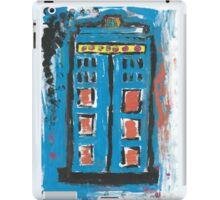Impression of The TARDIS iPad Case/Skin