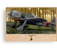 The Last Flight of Red One Canvas Print