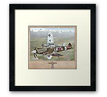 Supermarine Spitfire Mk XII Framed Print