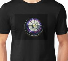 A Dazzling Stained Glass Jewel Emerging From the Darkness Unisex T-Shirt
