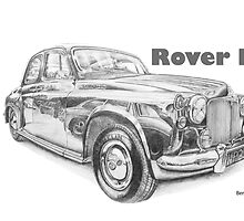 Rover P4 105S by BSIllustration