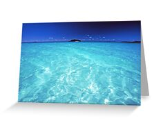 divine waters Greeting Card