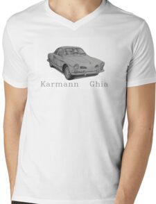 Volkswagen Karmann Ghia Mens V-Neck T-Shirt