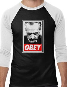 Obey Your Master! Men's Baseball ¾ T-Shirt