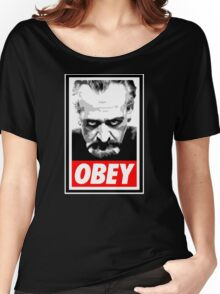 Obey Your Master! Women's Relaxed Fit T-Shirt