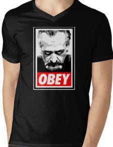 Obey Your Master! Mens V-Neck T-Shirt
