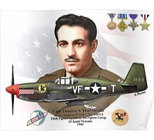 Capt. Dominic S. 'Don' Gentile Poster