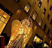Sidewalk Angel by Nancy de Flon