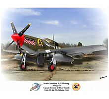"North American P-51 ""Shangri La"" Photographic Print"