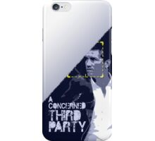 Person of Interest: A Concerned Third Party iPhone Case/Skin