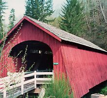 Fisher School Covered Bridge Built 1927 by Marylamb