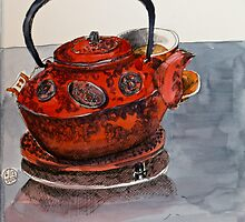 Earl Grey Tea at Deep Water Point by Evelyn Bach
