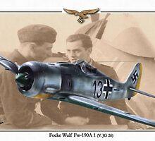 Focke Wulf Fw 190A1 - Horst Sternberg by A. Hermann