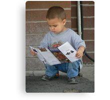 little reader Canvas Print