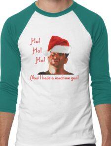 Ho Ho Ho Hard Men's Baseball ¾ T-Shirt