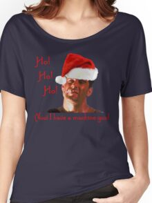 Ho Ho Ho Hard Women's Relaxed Fit T-Shirt