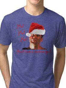 Ho Ho Ho Hard Tri-blend T-Shirt