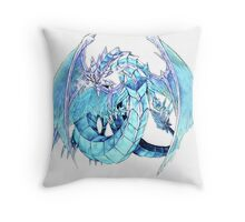 Brionac, Dragon of the Ice Barrier Throw Pillow