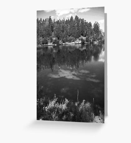 Goldwater Lake, Prescott, AZ Greeting Card