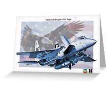 F-15C Eagle Greeting Card