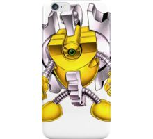 Yellow Gadget Shirt iPhone Case/Skin