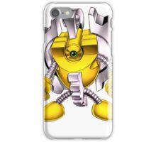 Yellow Gadget Shirt iPhone Case/Skin