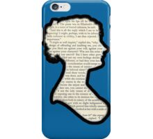 Jane Austen - Pride and Prejudice iPhone Case/Skin