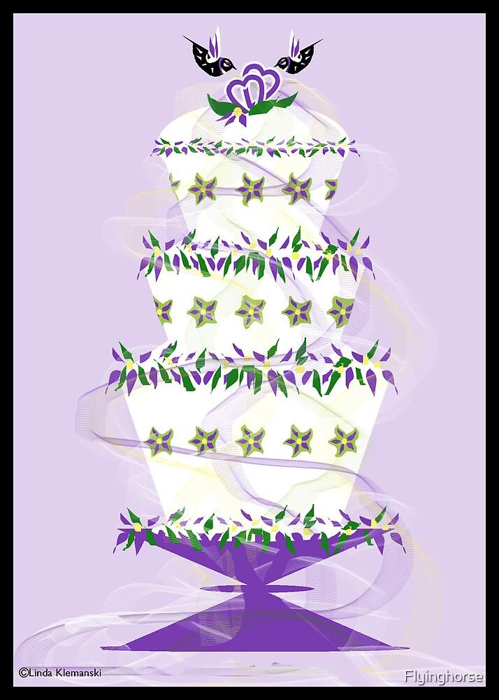 The Wedding Cake by Flyinghorse