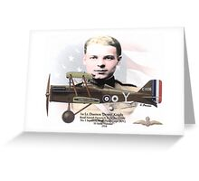1st Lt. Duerson Knight Greeting Card