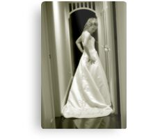 The gown Metal Print