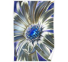Abstract Daisy I Poster